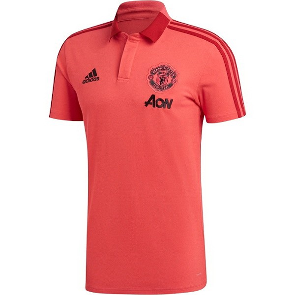 Polo Foot Pas Cher Manchester United 2018 2019 Rouge