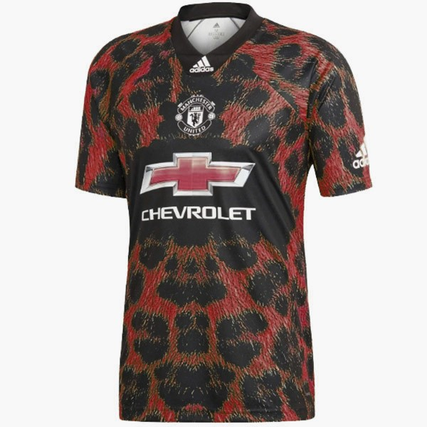 EA Sport Maillot Foot Pas Cher Manchester United 2018 2019 Rouge