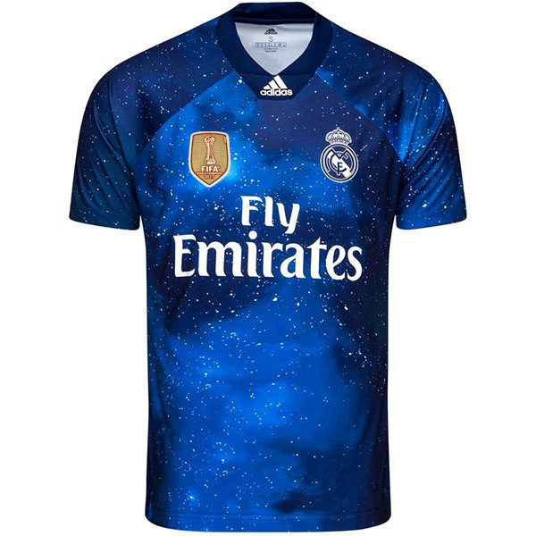 Entrainement Real Madrid 2018 2019 Bleu Marine
