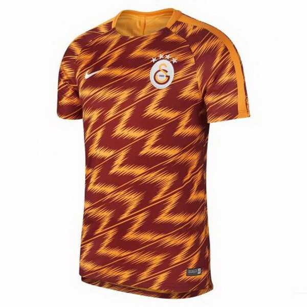 Maillot Foot Pas Cher Galatasaray SK Pre Match 2018 2019 Orange