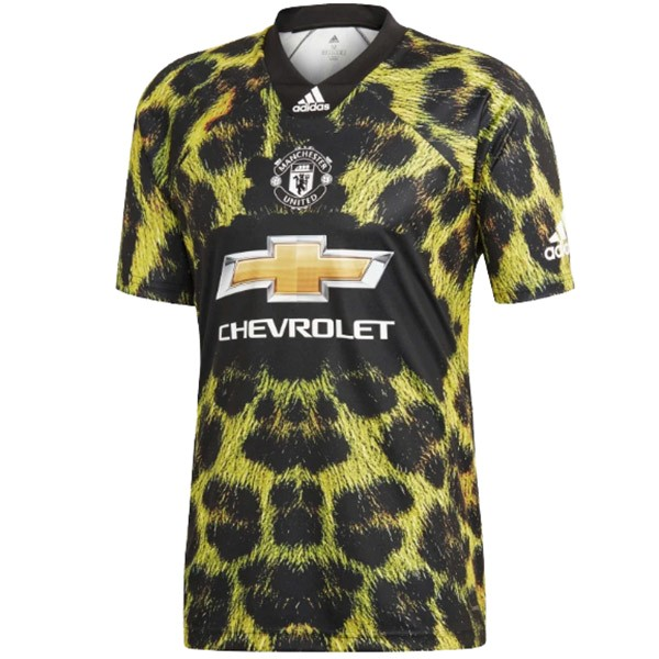 EA Sport Maillot Foot Pas Cher Manchester United 2018 2019 Vert