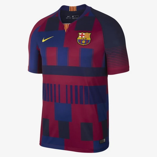 Maillot Foot Pas Cher Barcelona 20th Bleu Rouge