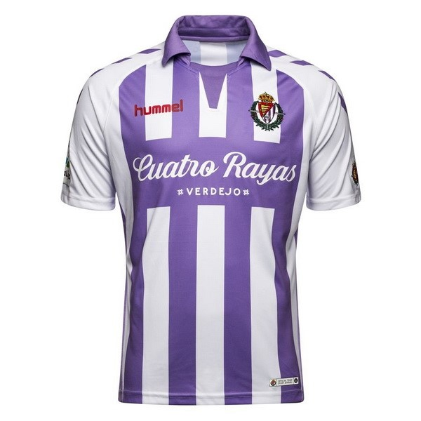 Maillot Foot Pas Cher Real Valladolid Domicile 2018 2019 Purpura
