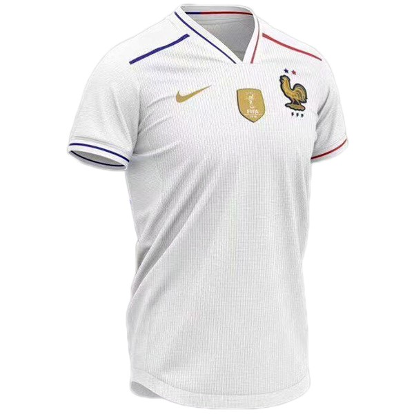 Maillot Foot Pas Cher France Concept 2019 Blanc