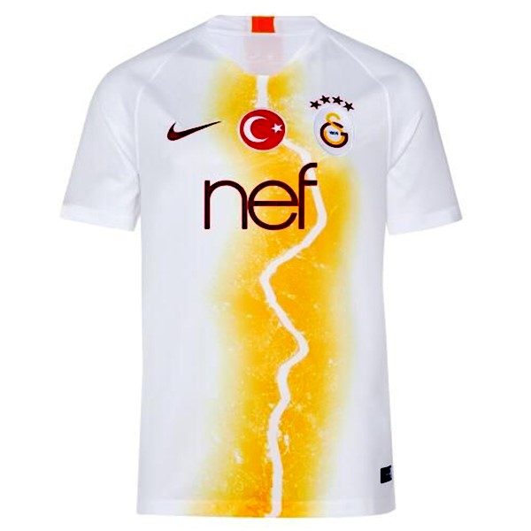 Maillot Foot Pas Cher Galatasaray Third 2018 2019 Blanc