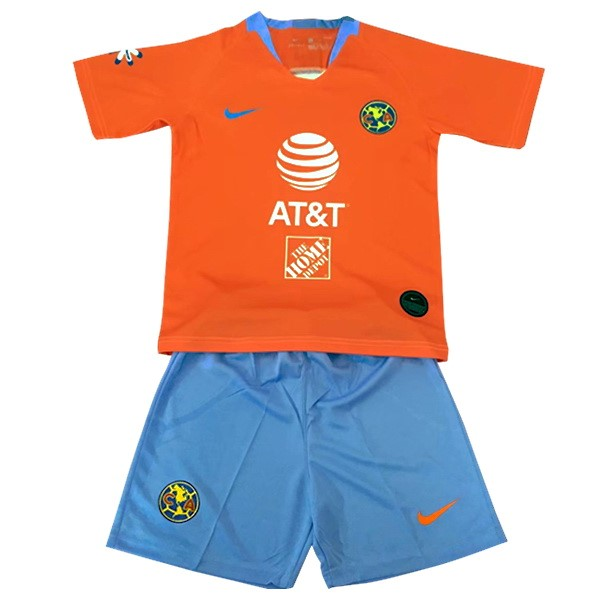 Maillot Foot Pas Cher Club América Third Enfant 2019 2020 Orange