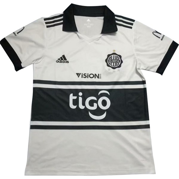 Maillot Foot Pas Cher Club Olimpia Domicile 2018 2019 Blanc
