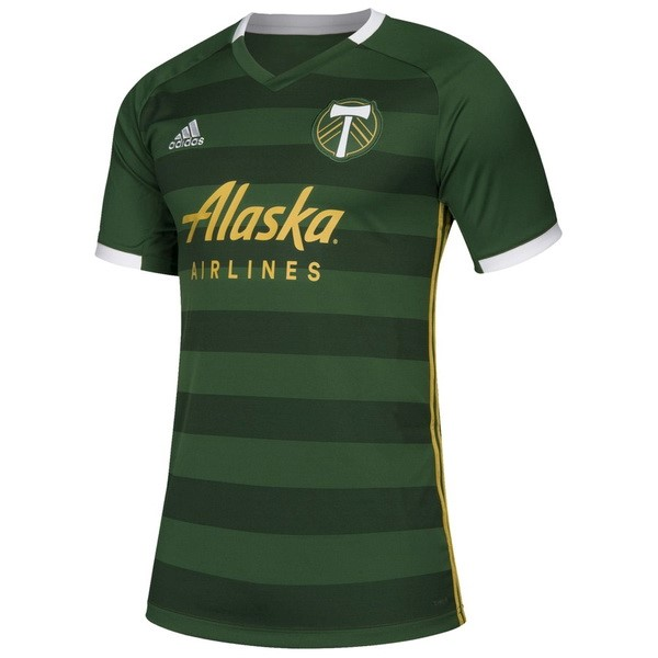 Maillot Foot Pas Cher Portland Timbers Domicile 2019 2020 Vert
