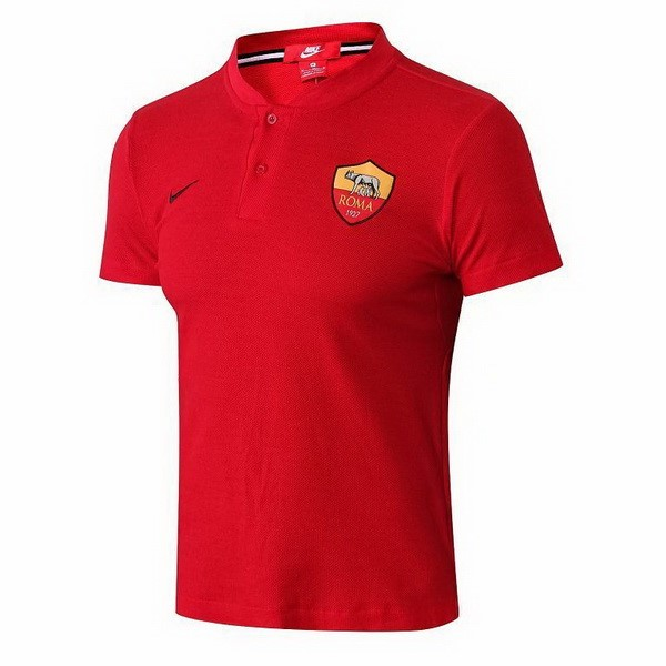 Polo Foot Pas Cher AS Roma 2018 2019 Rouge