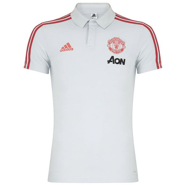 Polo Foot Pas Cher Manchester United 2019 2020 Blanc