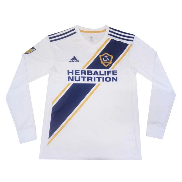 Maillot Foot Pas Cher Los Angeles Galaxy Domicile ML 2019 2020 Blanc