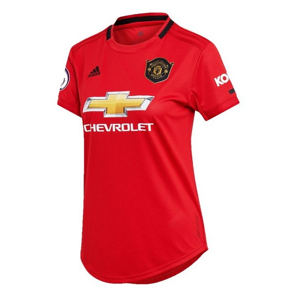 Maillot Foot Pas Cher Manchester United Domicile Femme 2019 2020 Rouge