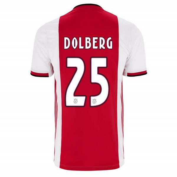 Maillot Foot Pas Cher Ajax Domicile Dolberg 2019 2020 Rouge