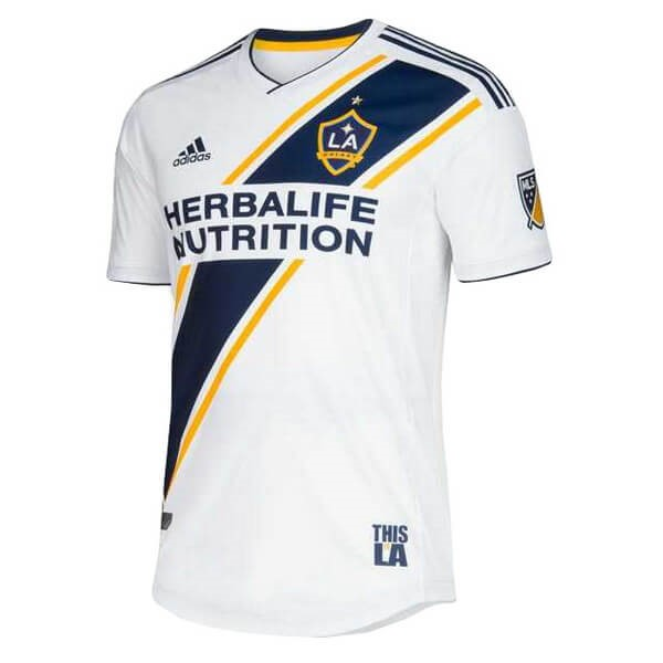 Maillot Foot Pas Cher Los Angeles Galaxy Domicile 2019 2020 Blanc