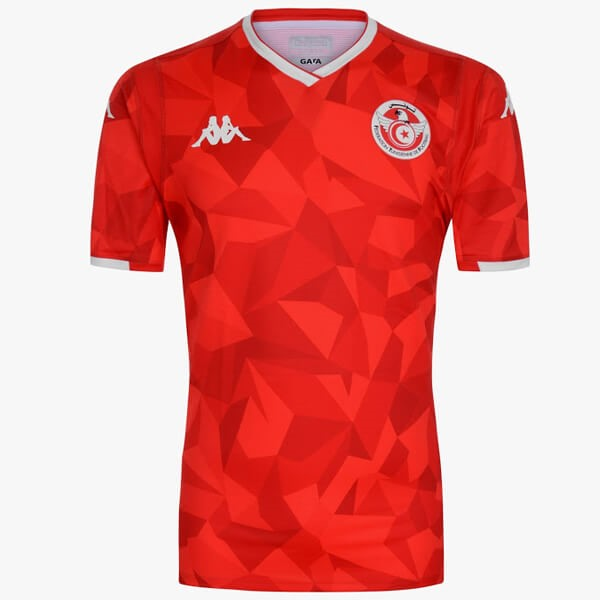 Maillot Foot Pas Cher Tunisie Domicile 2019 Rouge