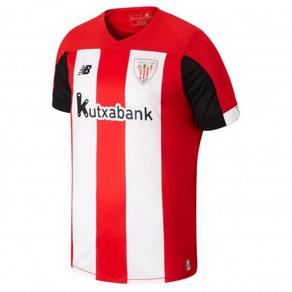 Maillot Foot Pas Cher Athletic Bilbao Domicile 2019 2020 Rouge Blanc