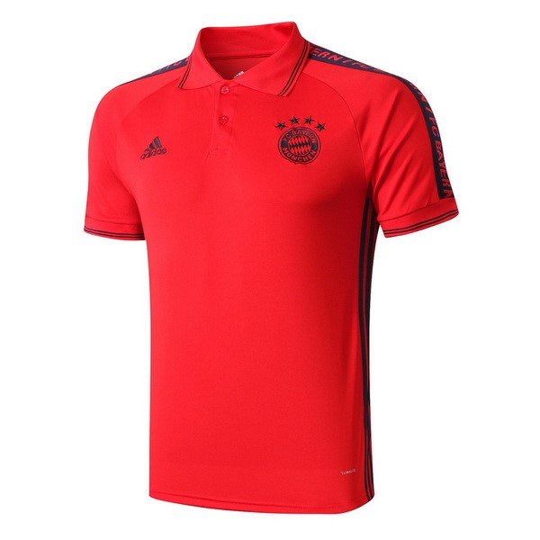Polo Foot Pas Cher Bayern Munich 2019 2020 Rouge