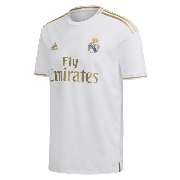 Thailande Maillot Foot Pas Cher Real Madrid Domicile 2019 2020 Blanc