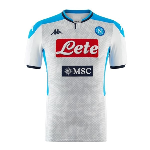 Maillot Foot Pas Cher Napoli Third 2019 2020 Gris