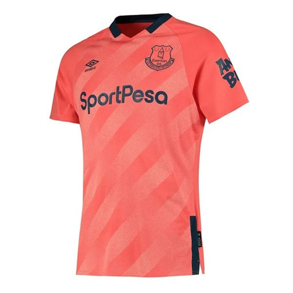 Maillot Foot Pas Cher Everton Exterieur 2019 2020 Orange