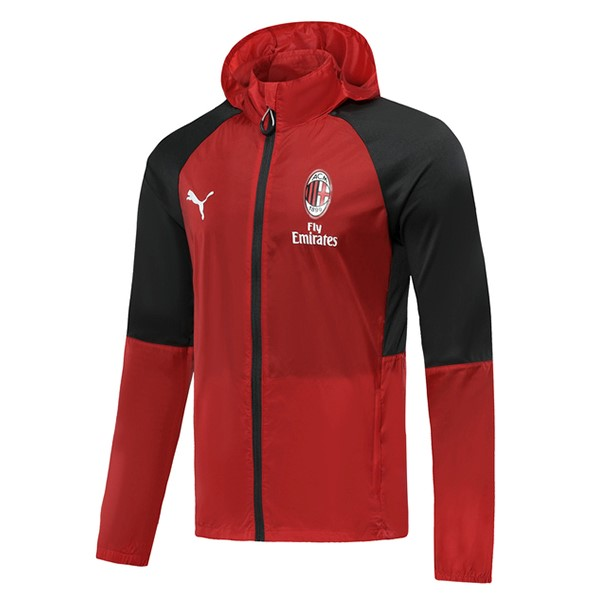Coupe Vent AC Milan 2019 2020 Rouge Negro