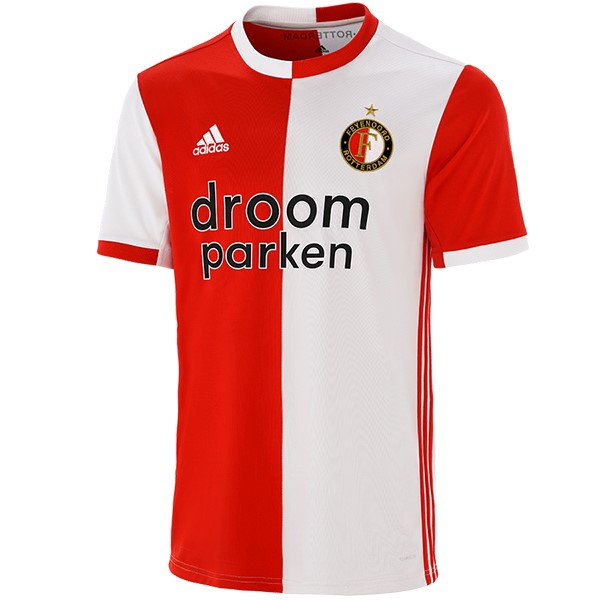 Maillot Foot Pas Cher Feyenoord Rotterdam Domicile 2019 2020 Rouge