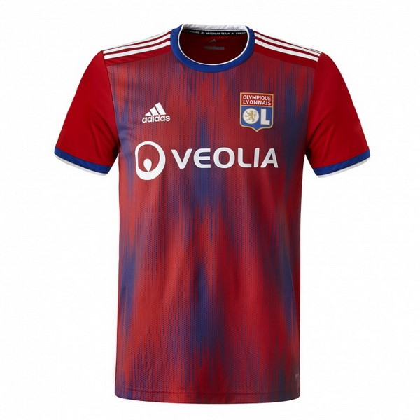 Maillot Foot Pas Cher Lyon Third 2019 2020 Rouge