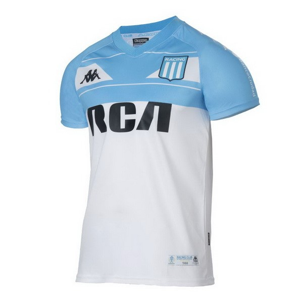 Maillot Foot Pas Cher Racing Club Domicile 100th Blanc Azul