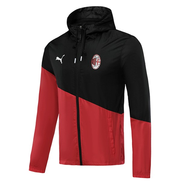 Coupe Vent AC Milan 2019 2020 Negro Rouge