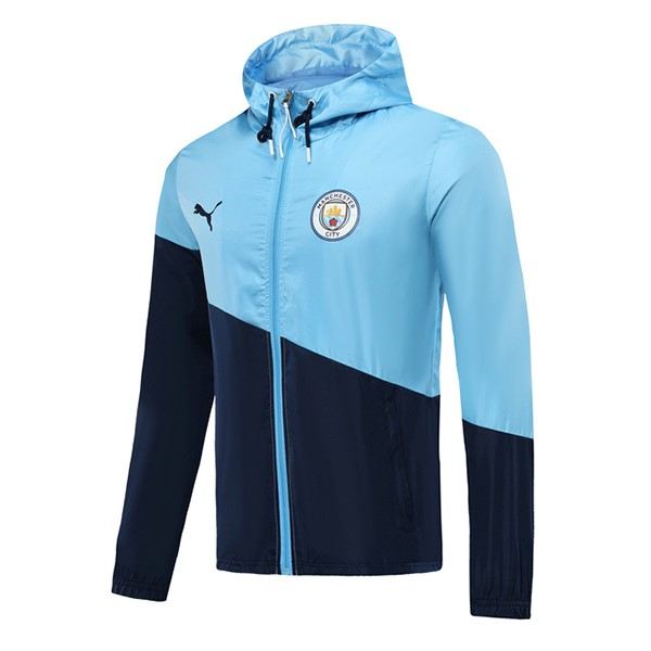 Coupe Vent Manchester City 2019 2020 Azul Clair