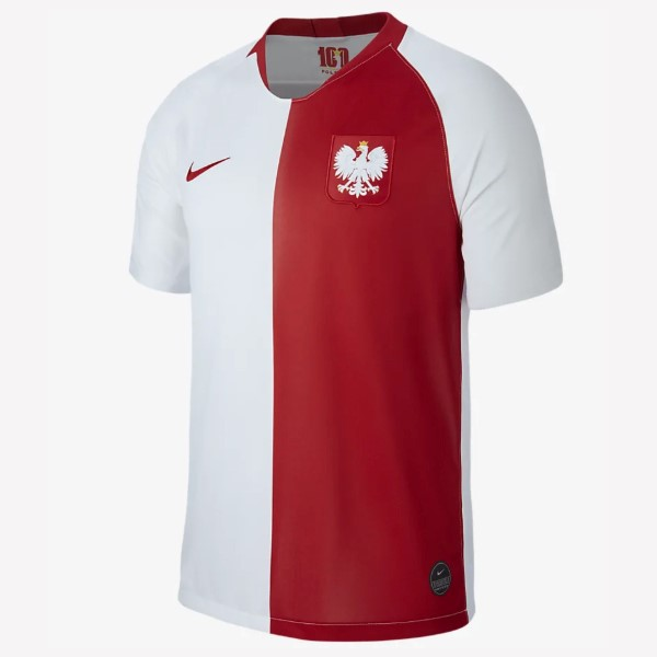 Maillot Foot Pas Cher Polo Foot Pas Chergne 100th Blanc Rouge