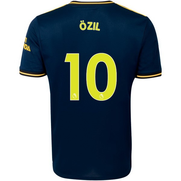 Maillot Foot Pas Cher Arsenal NO.10 Ozil Third 2019 2020 Bleu