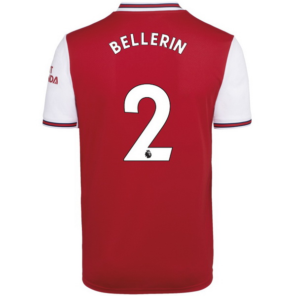 Maillot Foot Pas Cher Arsenal NO.2 Bellerin Domicile 2019 2020 Rouge