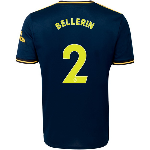 Maillot Foot Pas Cher Arsenal NO.2 Bellerin Third 2019 2020 Bleu