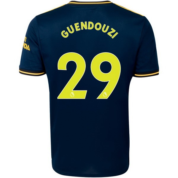 Maillot Foot Pas Cher Arsenal NO.29 Guendouzi Third 2019 2020 Bleu