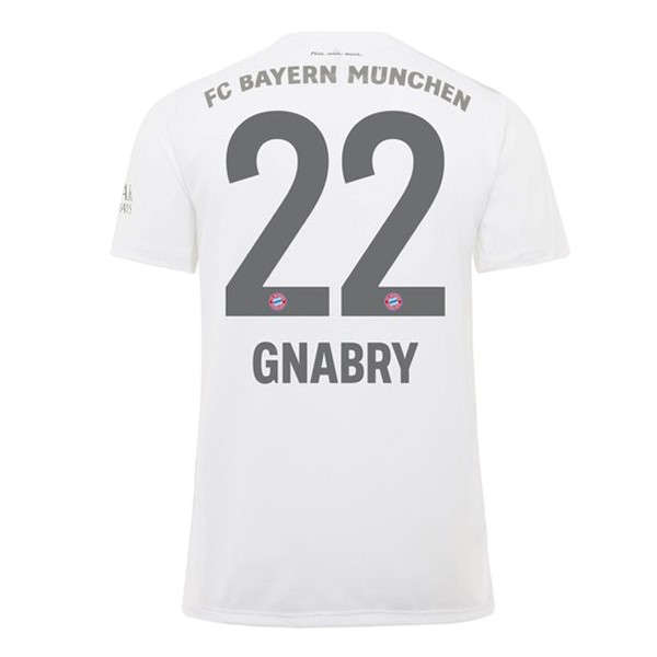 Maillot Foot Pas Cher Bayern Munich NO.22 Gnabry Domicile 2019 2020 Rouge