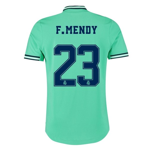 Maillot Foot Pas Cher Real Madrid NO.23 F.Mendy Third 2019 2020 Vert