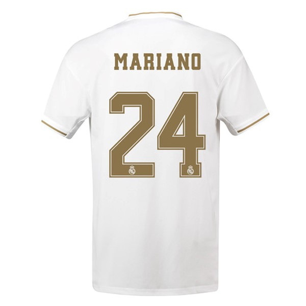 Maillot Foot Pas Cher Real Madrid NO.24 Mariano Domicile 2019 2020 Blanc