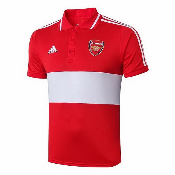 Polo Arsenal 2019 2020 Rouge Gris