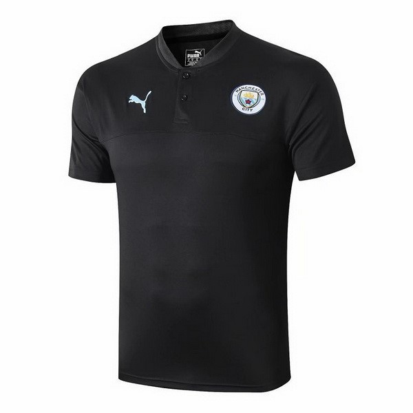 Polo Manchester City 2019 2020 Noir Bleu