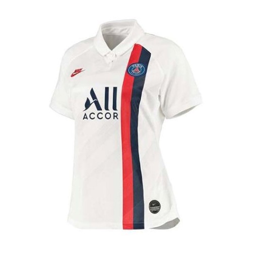 Maillot Foot Pas Cher Paris Saint Germain Third Femme 2019 2020 Blanc