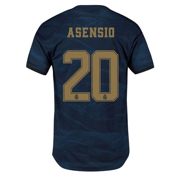 Maillot Foot Pas Cher Real Madrid NO.20 Asensio Exterieur 2019 2020 Bleu
