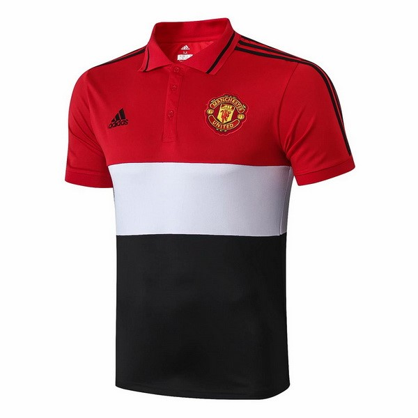Polo Manchester United 2019 2020 Rouge Blanc Noir