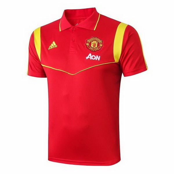 Polo Manchester United 2019 2020 Rouge Or