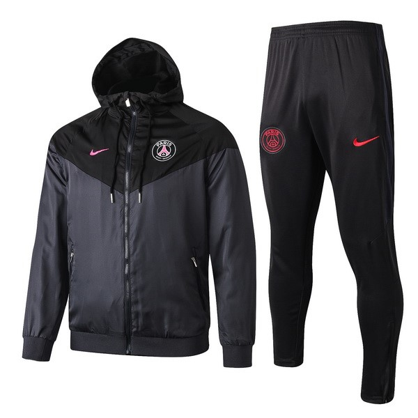 Coupe Vent Ensemble Complet Paris Saint Germain 2019 2020 Noir Rose