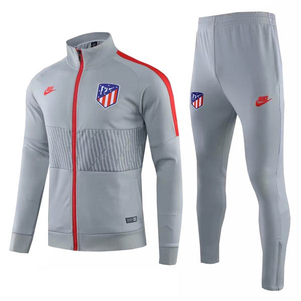 Survetement Foot Pas Cher Atlético de Madrid 2019 2020 Gris