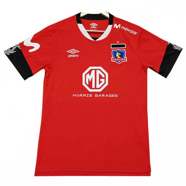 Maillot Foot Pas Cher Colo Colo Third 2019 2020 Rouge
