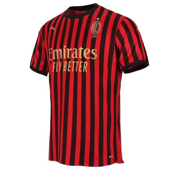 Thailande Maillot Foot Pas Cher AC Milan 120th Rouge