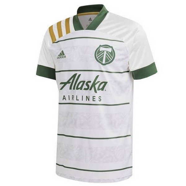 Thailande Maillot Foot Pas Cher Portland Timbers Exterieur 2020 2021 Blanc