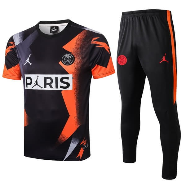 Entrainement Paris Saint Germain Ensemble Complet 2019 2020 Orange Noir